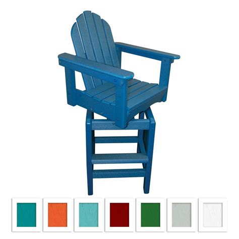Adirondack Swivel Bar Stool Plans