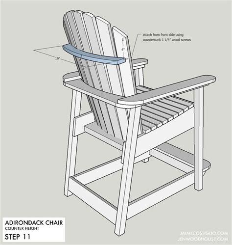 Adirondack-Bar-Chair-Plans