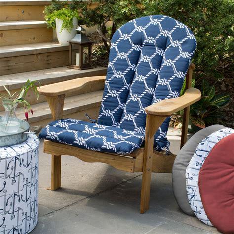Adirondack-Chair-And-Cushion