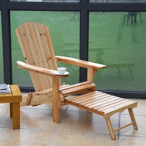 Adirondack-Chair-And-Footrest