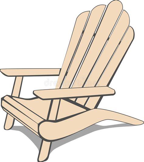 Adirondack-Chair-Lake-Cartoon