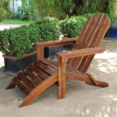 Adirondack-Chair-With-Attached-Footrest
