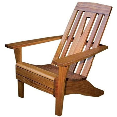 Adirondack-Chair-With-Cutout-Back