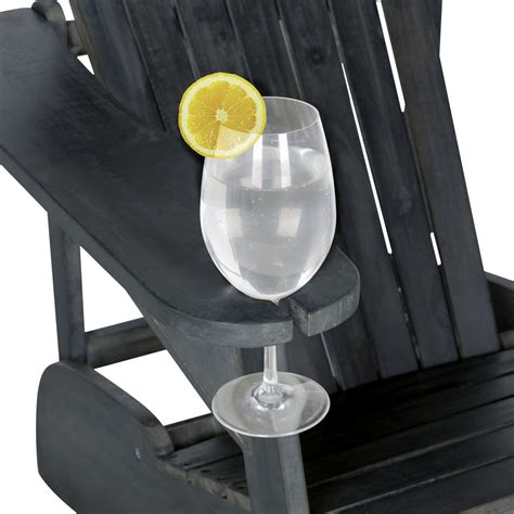 Adirondack-Chair-With-Wine-Glass-Holder