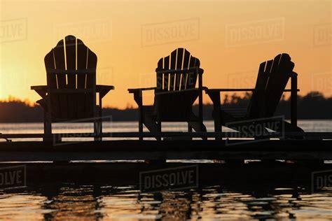 Adirondack-Chairs-And-Sunset-Line-Art