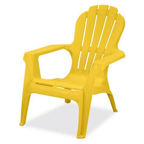 Adirondack-Chairs-Plastic-Yellow