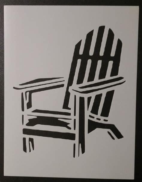 Adirondack-Chairs-Stencils