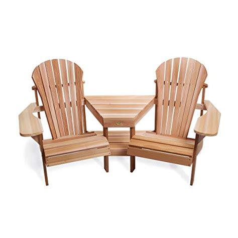 Adirondack-Chairs-With-Attached-Table
