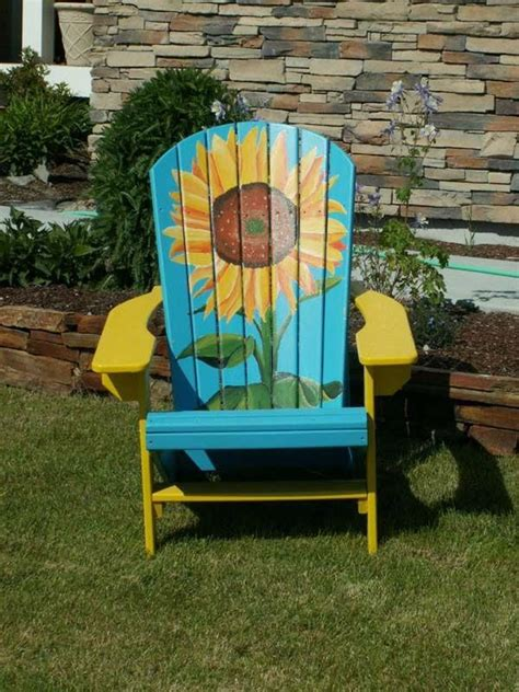 Adirondack-Chairs-With-Flowers
