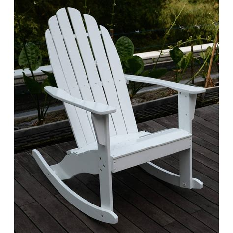 Adirondack-Rocking-Chair-White