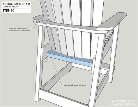 Adirondack-Swivel-Bar-Chair-Plans