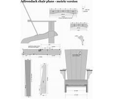 Best Adirondack chair plans metric version.aspx