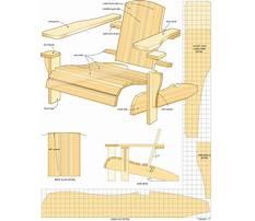 Best Adirondack lawn furniture plans