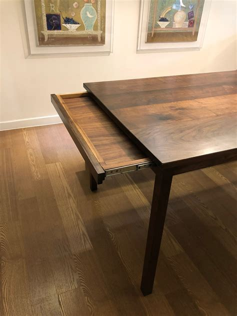 Adjustable Dining Table Plans