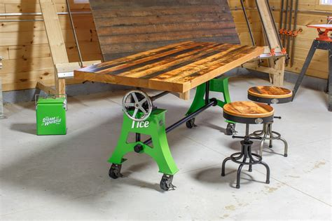 Adjustable Table Crank Diy