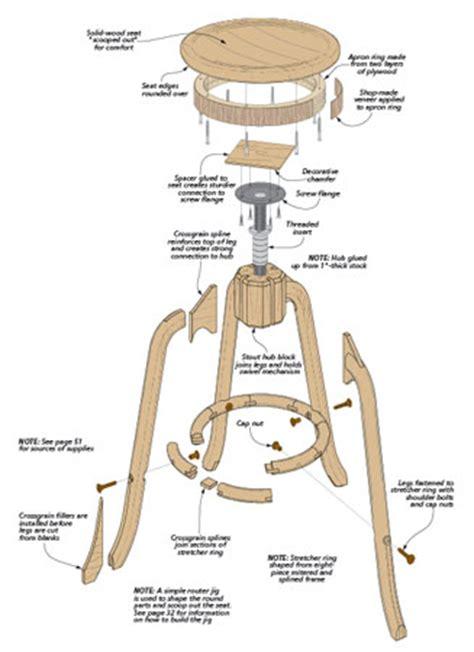 Adjustable-Shop-Stool-Woodworking-Plan