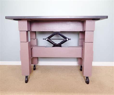 Adjustable-Table-Height-Diy