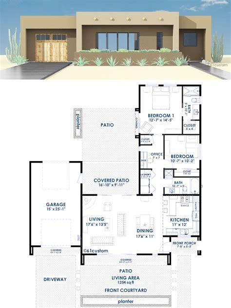 Adobe-Tiny-House-Plans