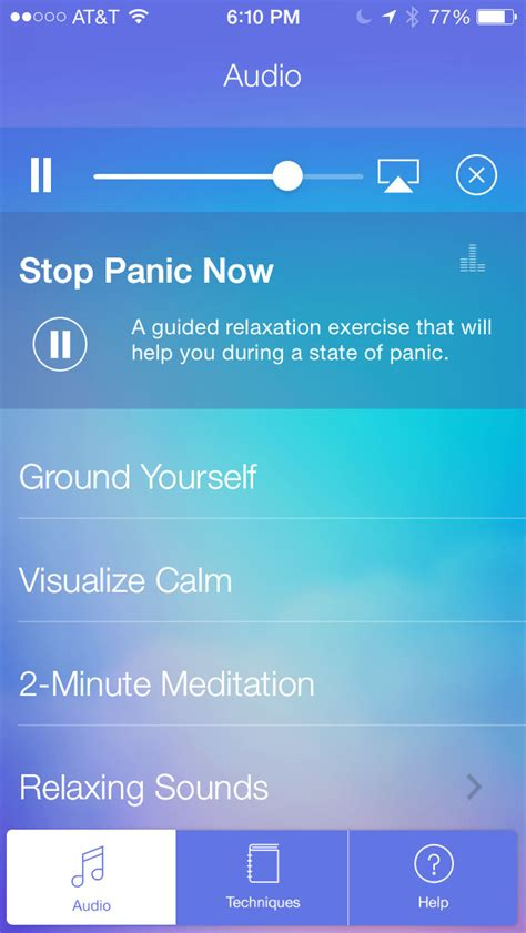 Adolescent Panic Attack Apps Calming Ios Iphone And Anxiety And Panic Attacks Menstrual Cycles