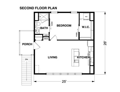 Adu Over Garage Floor Plans