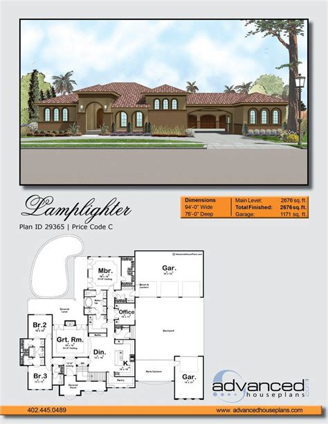 Advanced House Plans Lamplighter 29365