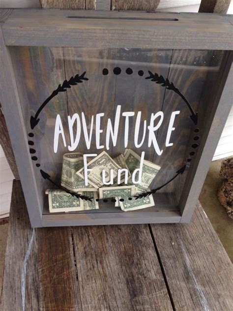 Adventure Fund Shadow Box DIY