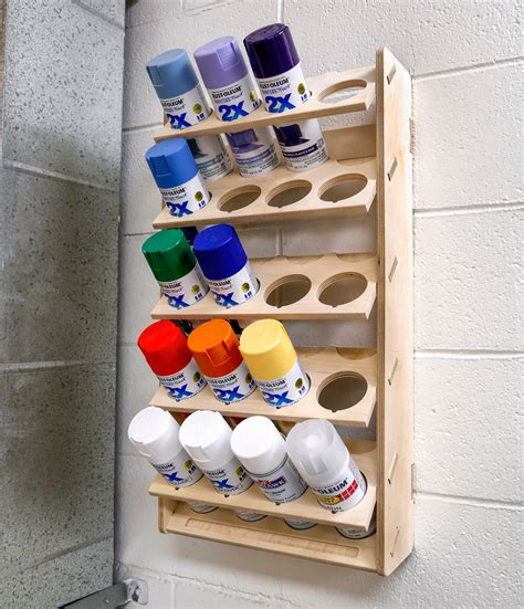 Aerosol Can Storage Rack Diy Fire