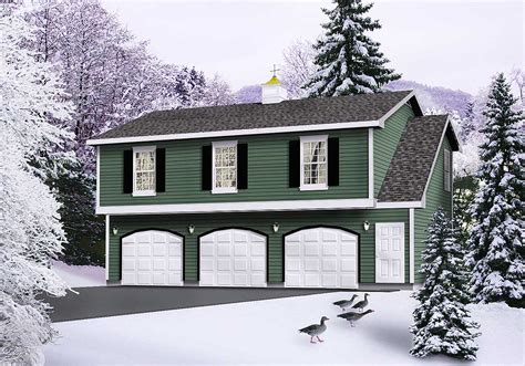 Affordable Garage With Apartment Plans
