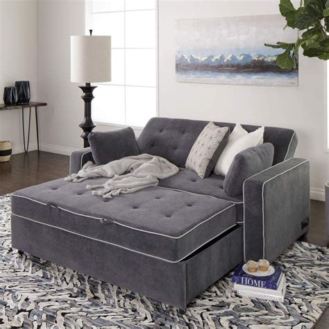 Affordable Pull Out Loveseat Sleeper