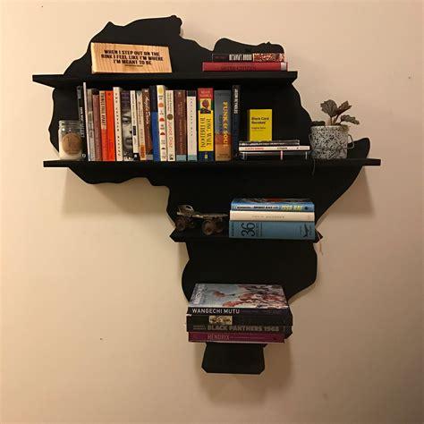 Africa-Shaped-Bookshelf-Diy