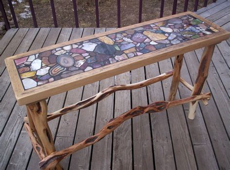 Agate Table Diy Underneath