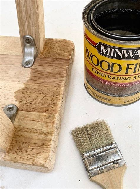 Aged Wood Stain Diy