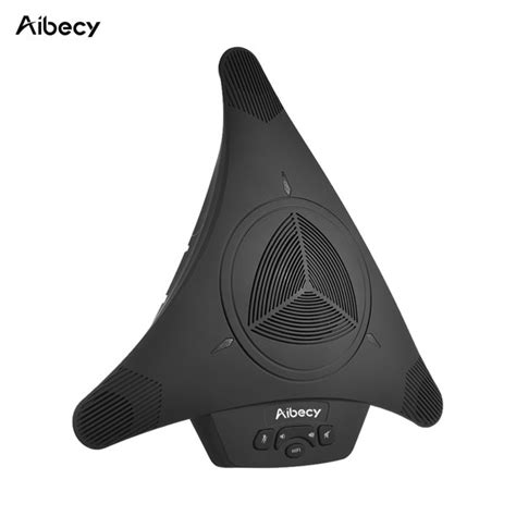 Aibecy MST-X1S USB Video Conference Microphone Speakerphone 6m 360° Audio Pickup for Computer Mobile Phone Support Skype MSN QQ