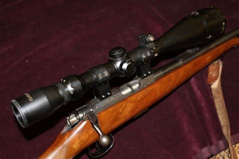 Aimpoint Bolt Action Rifle And Australian Made Rifle Actions