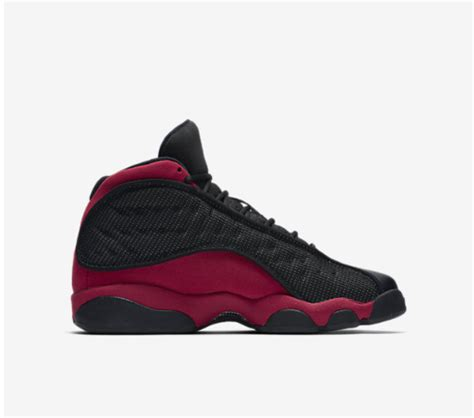 Air 13 Retro Mens Lifestyle Fashion Sneakers Black/True Red-White New 414571-004 - 9.5