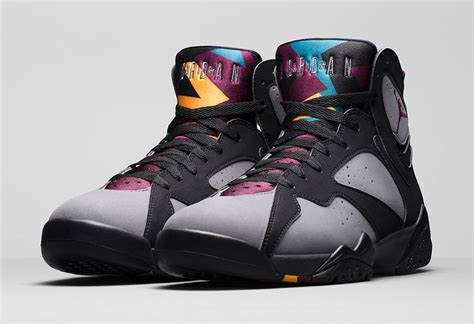Air 7 Retro Bordeaux Mens' Shoes Black/Bordeaux-Light Graphite-Midnight Fog 304775-034