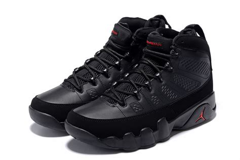 Air 9 Retro Men's Basketball Shoes Black/University Red 302370-014