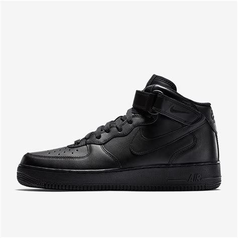 Air Force 1 Mid '07 Men's Shoes Black/Black-Black 315123-001 (10 D(M) US)