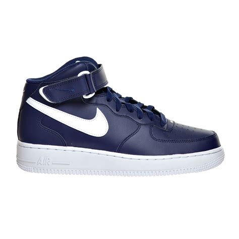 Air Force 1 Mid '07 Men's Shoes Midnight Navy/White 315123-407