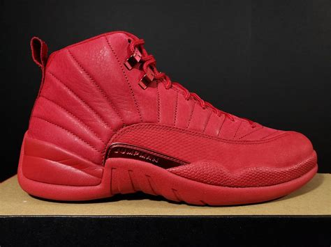 715758ebdf3 Air Jordan 12 Bulls Gym Red Black 130690-601 - Sneaker Bar Detroit.