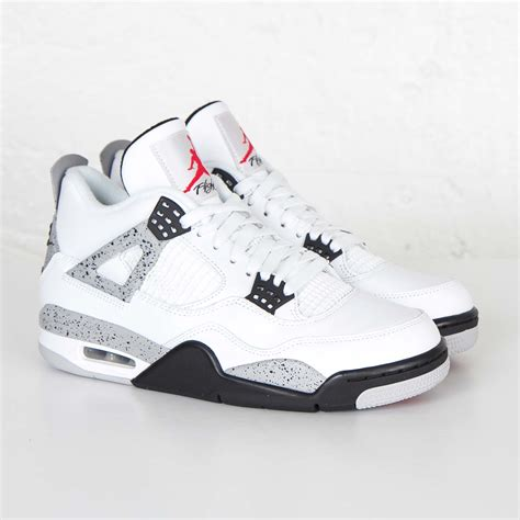Air Jordan 4 Retro OG - 10 - 840606 192,WHITE/FIRE RED-BLACK-TECH GREY,10 US