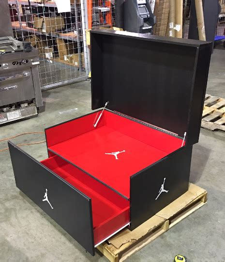Air Jordan Shoe Box Plans