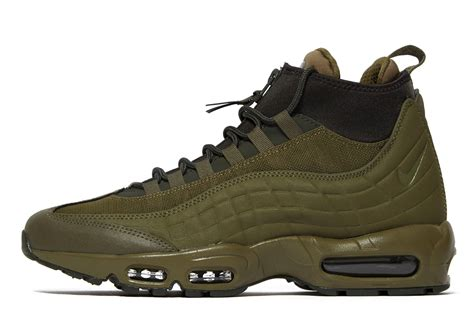 Air Max 95 Sneakerboot Men's Boot (Olive) (11.5)