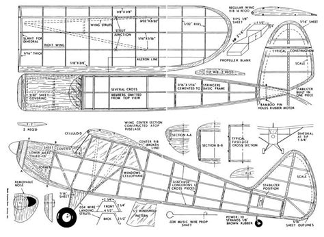 Airplane-Plans-Free-Download