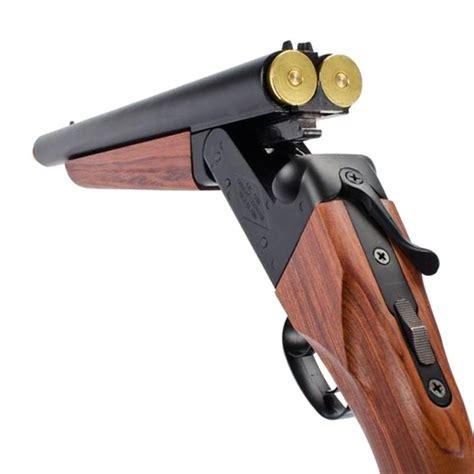 Airsoft Double Shotgun And Firing A Double Barrel Shotgun