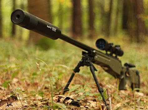 Airsoft Sniper Rifle With Silencer And Best Rifle To Build