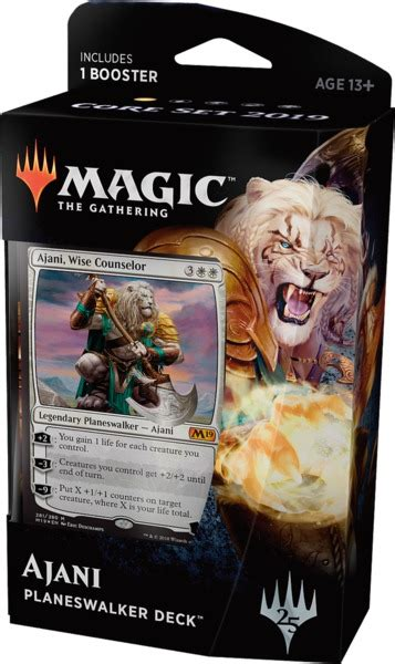 Ajani The Wise Planeswalker Deck Build