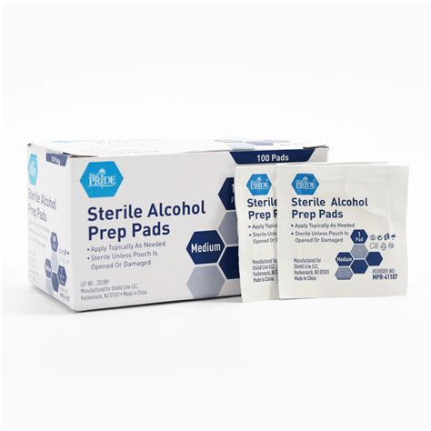 Alcohol Prep Pads Msds Sheet And 3 410
