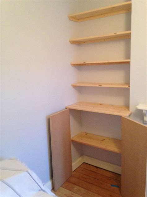 Alcove Cupboards Diy