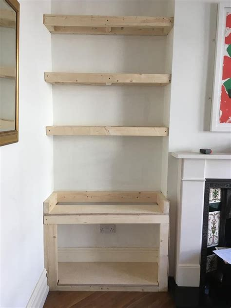 Alcove Cupboards Diy Fire